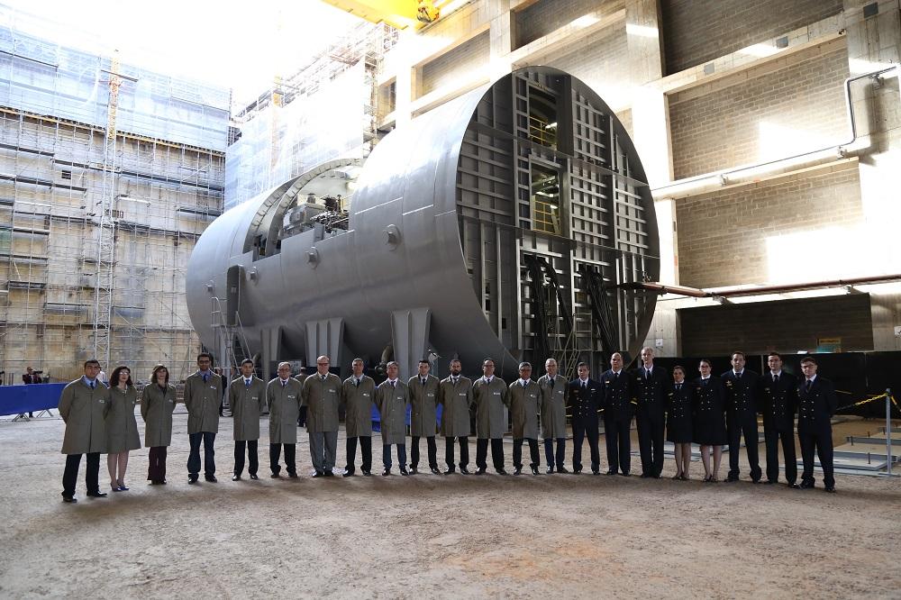 Brazilian Navy's Nuclear Submarine Shows Progress