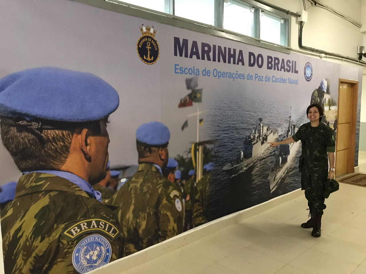 First Female Brazilian Navy Officer to Serve in Abyei