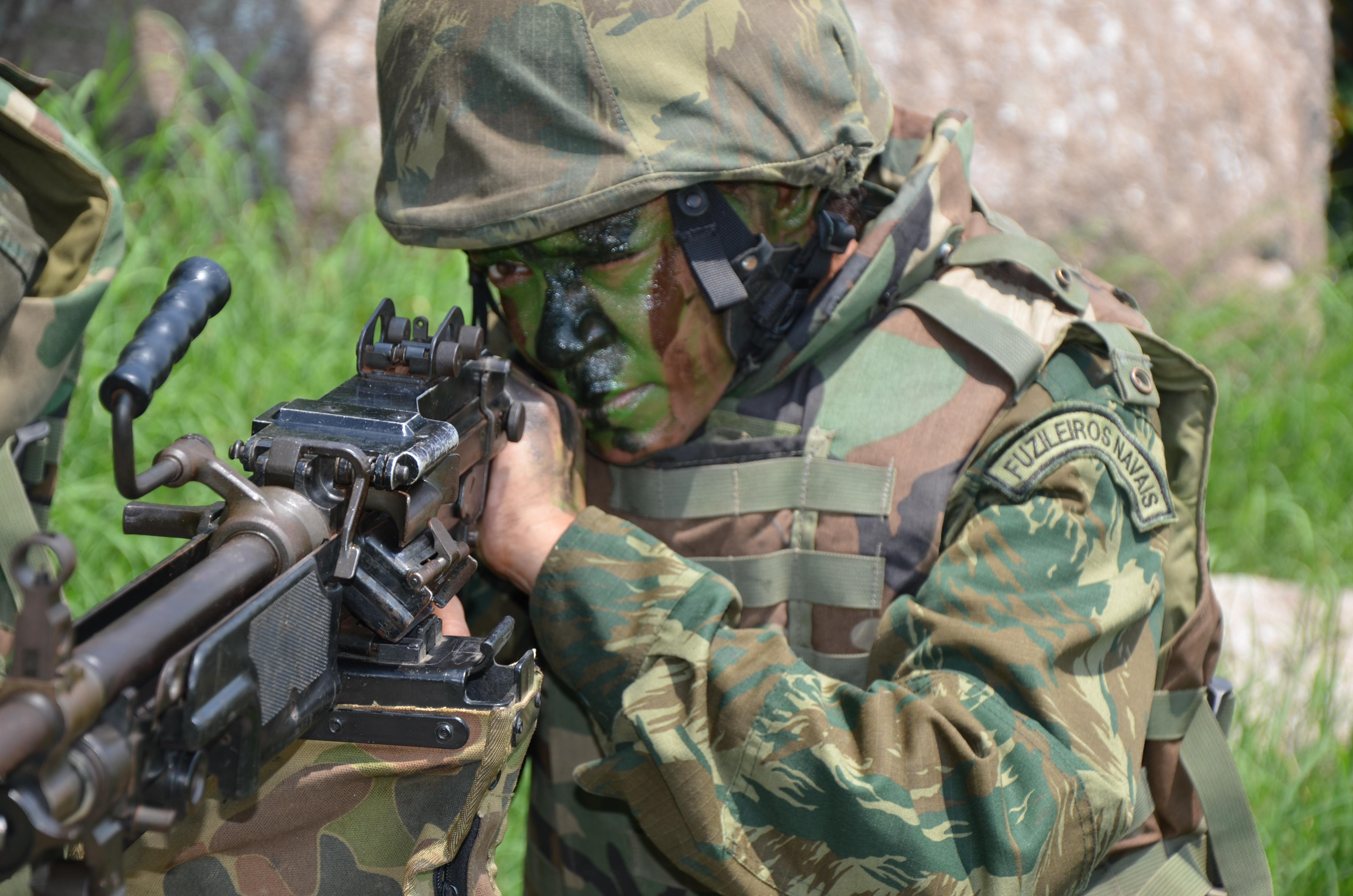Women Among the Brazilian Marine Corps