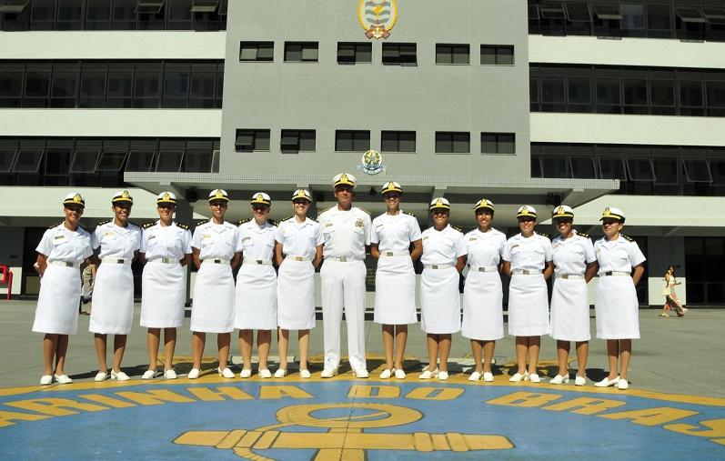 Brazilian Navy Women Gain Ground in Combat Operations