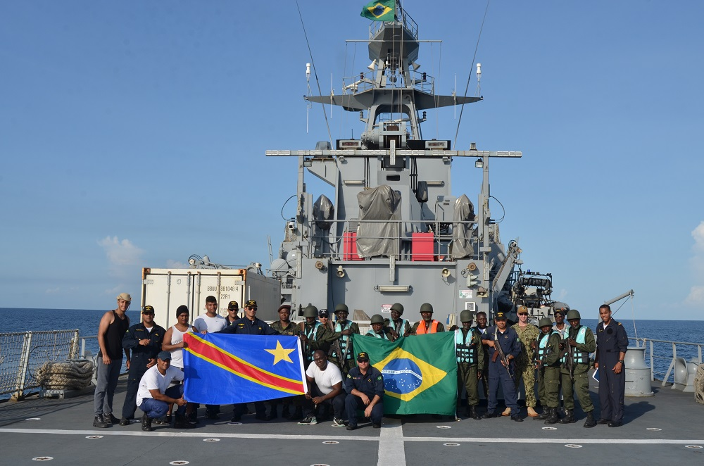 Brazilian Navy Participates in International Operation on African Coast