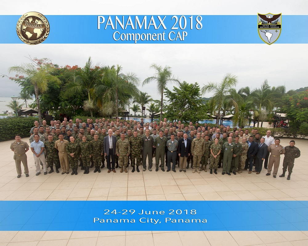 Brazilian Navy Commands Multinational Task Force in PANAMAX 2018