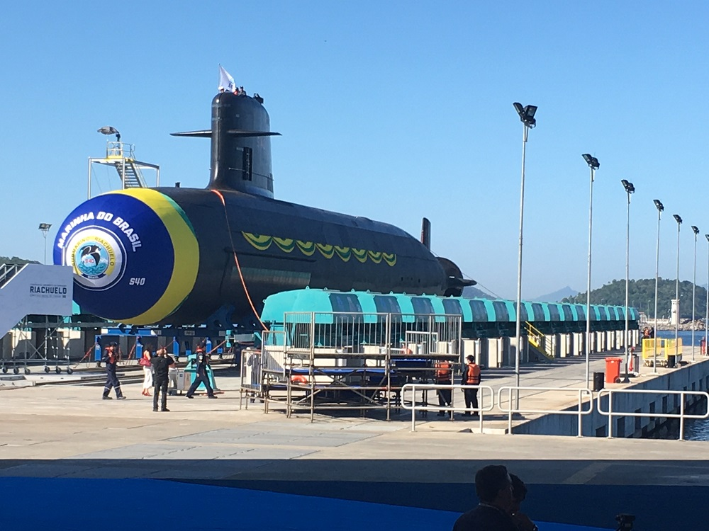 Brazil, One Step Closer to First Nuclear-Powered Submarine