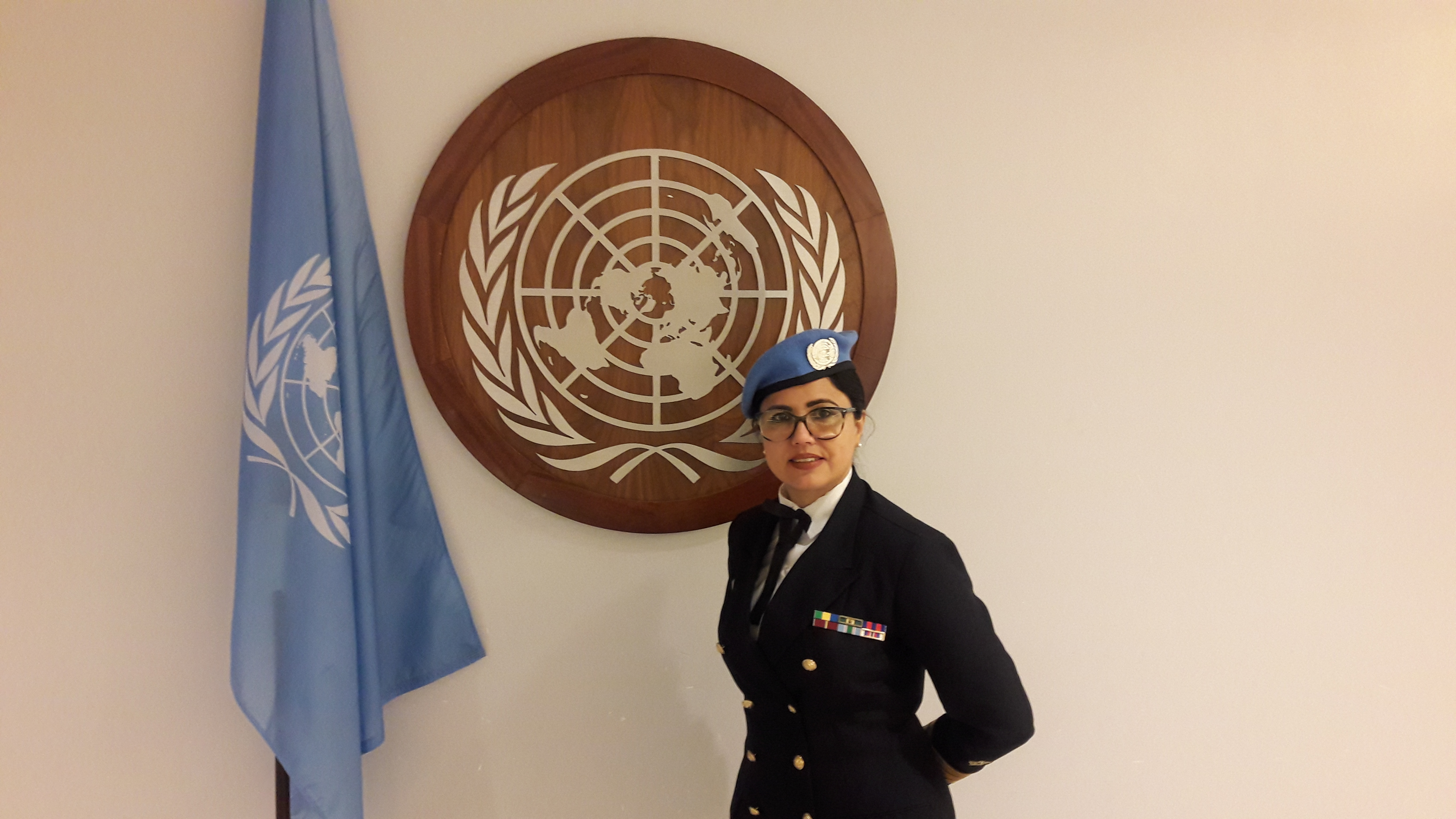 Female Brazilian Navy Officer Makes a Difference at UN Office in New York