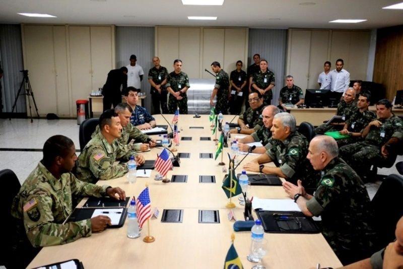 Brazilian and U.S. Armies Reinforce Exchange