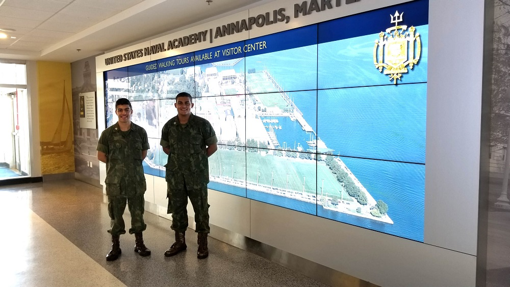 Brazilian Naval Academy Carries Out Exchange in the US
