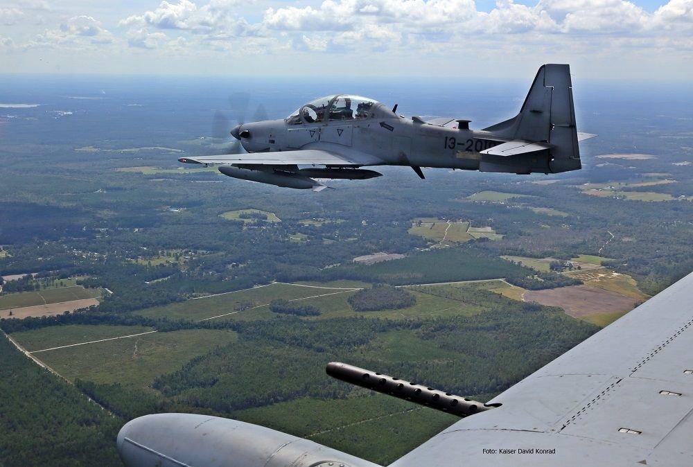 Super Tucano in Service in U.S. Air Force
