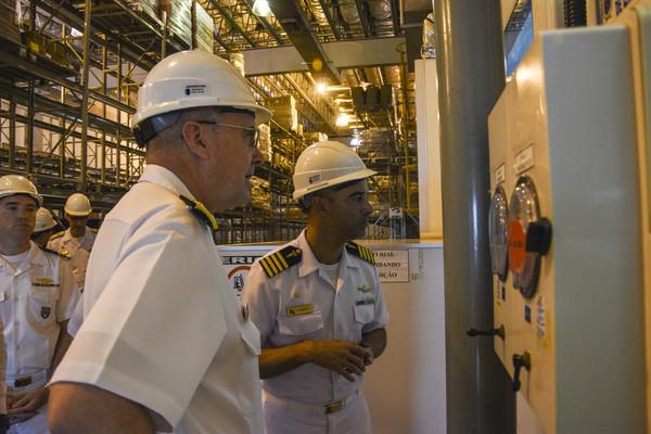 Navy Surgeon General Strengthens Navy Medicine's Ties with Brazil