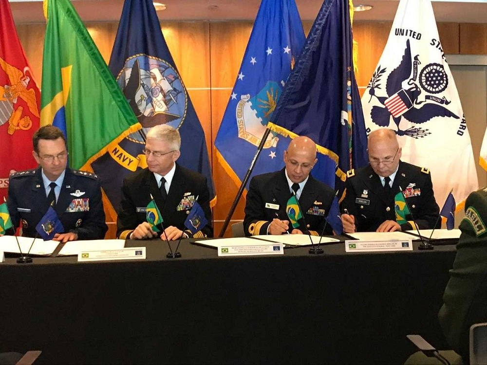 Brazil Enters Partnership with New York National Guard