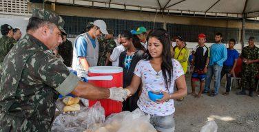 Governo brasileiro libera verba para ações militares de atendimento aos venezuelanos