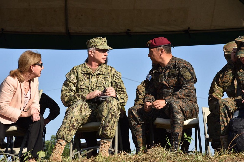 SOUTHCOM Commander Stresses Regional Cooperation During Trip to Central America