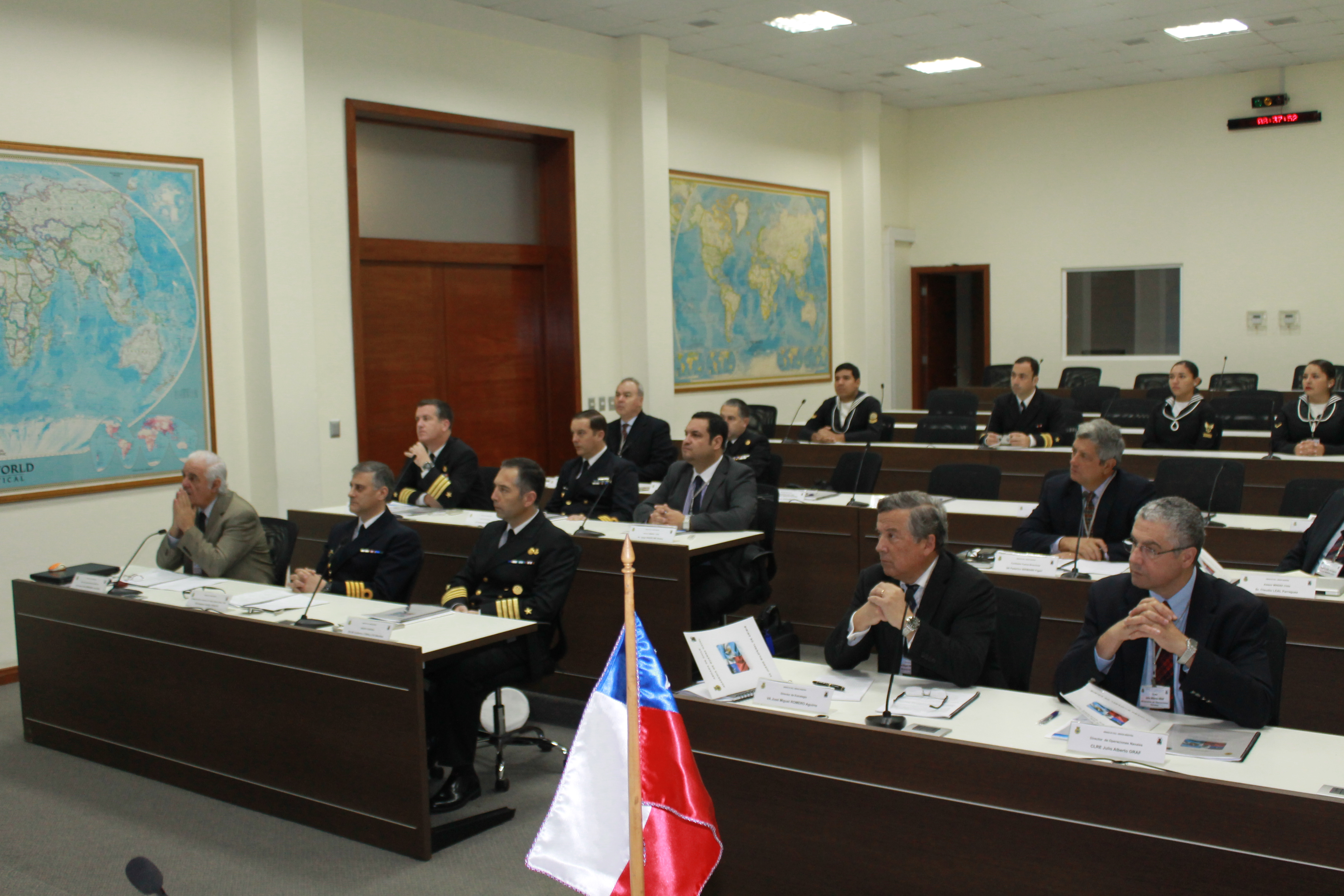 Navies of Chile and Argentina Combat Crime in the High Seas in Tabletop Exercise