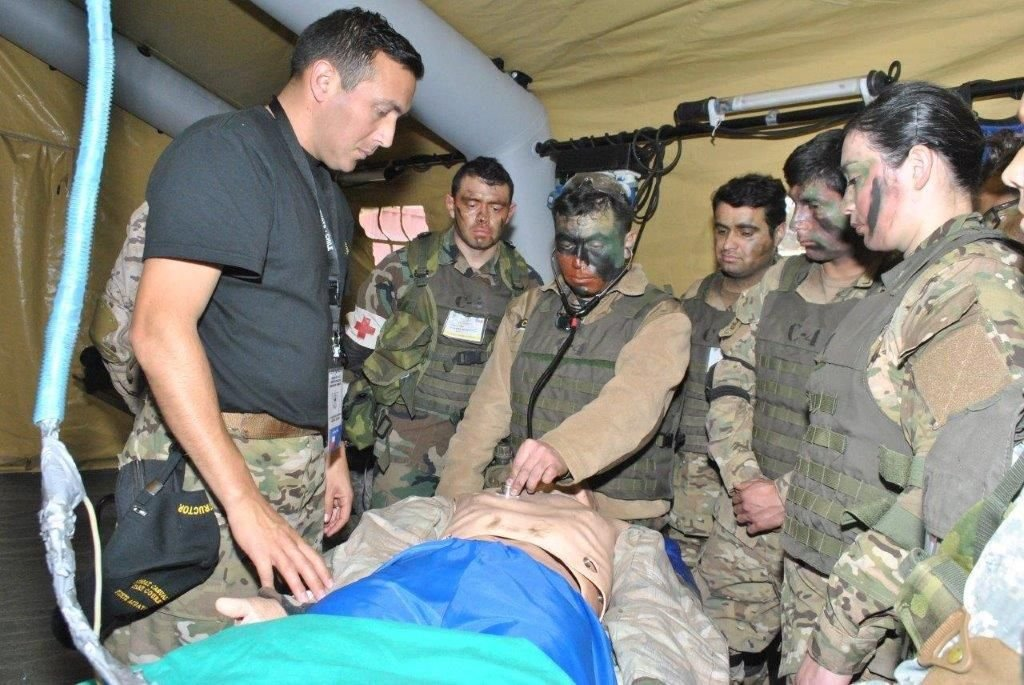 Chilean Navy Trains Medical Personnel