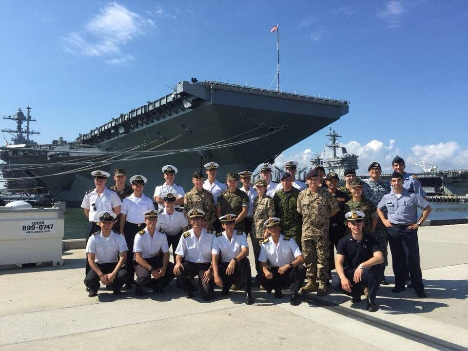 Chilean Navy Cadets Study in the United States