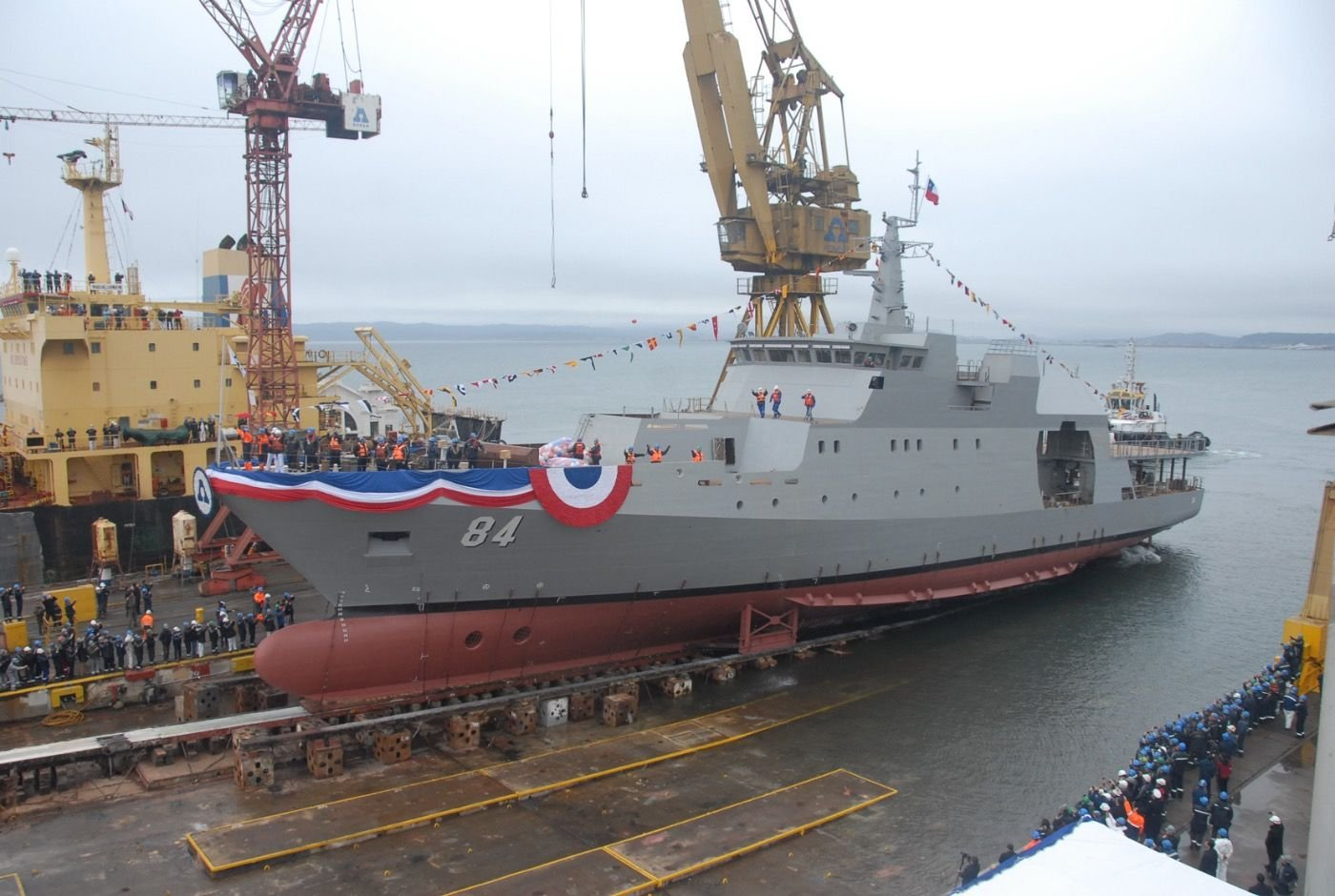 Chilean Navy Receives a Patrol Boat and Increases its Capacities