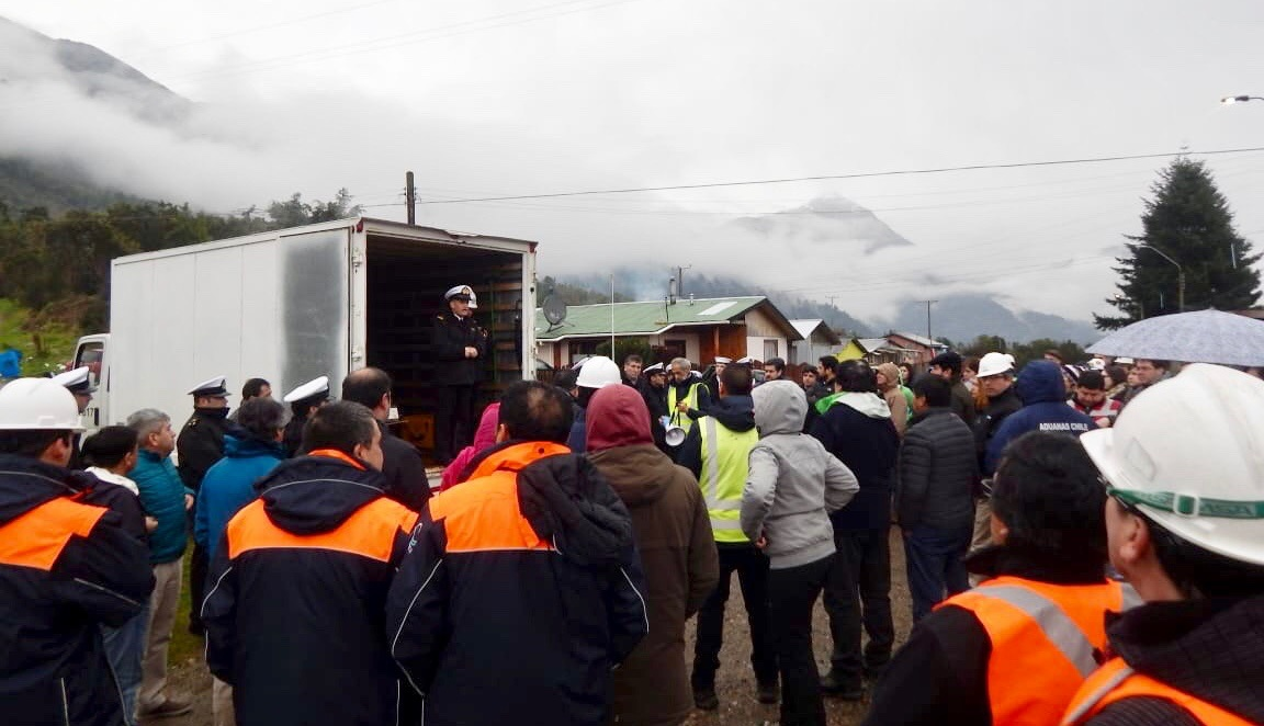 Chilean Navy Conducts Tsunami Disaster Response Exercise