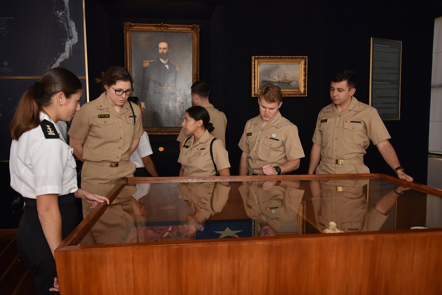US Midshipmen Visit Chile's Naval Academy