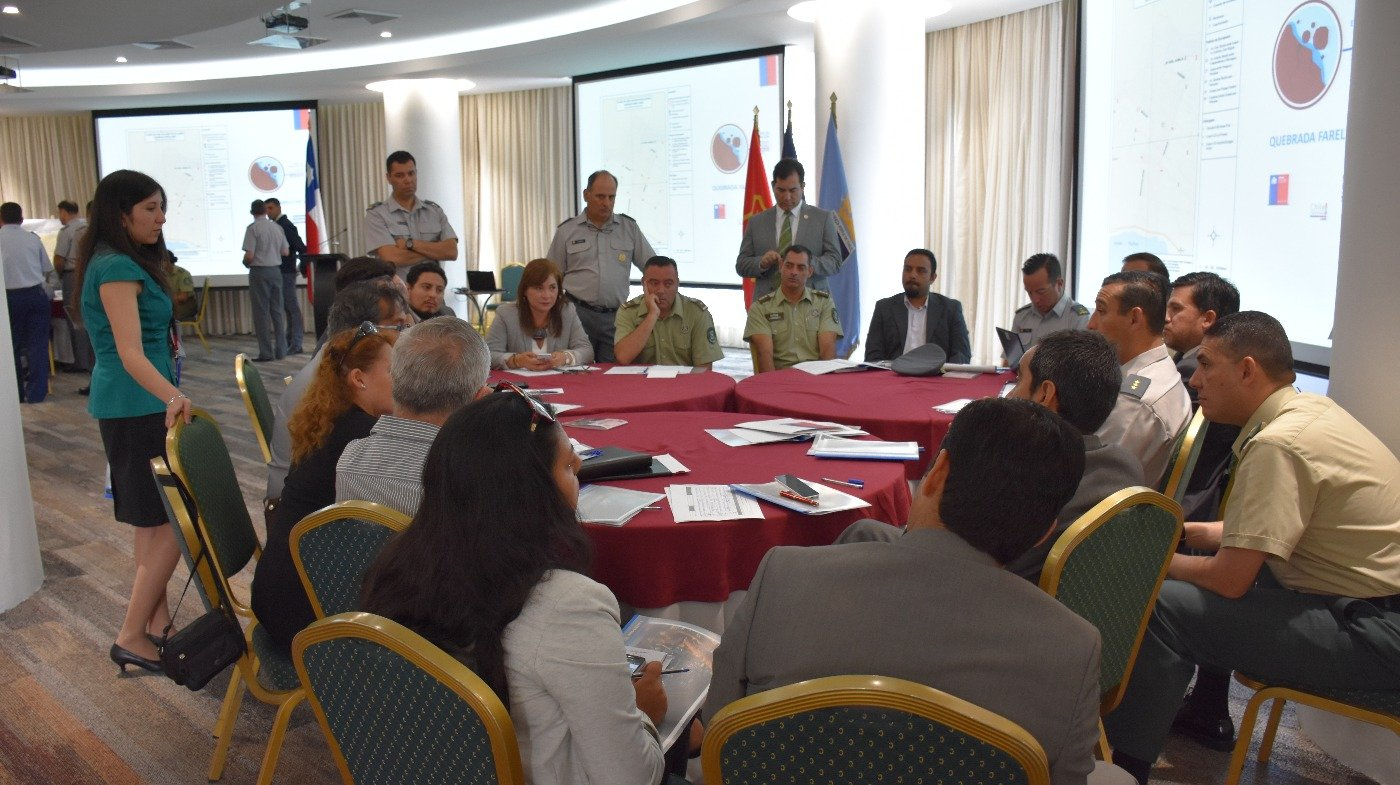 Chile Constantly in Natural Disaster Response Preparation Mode