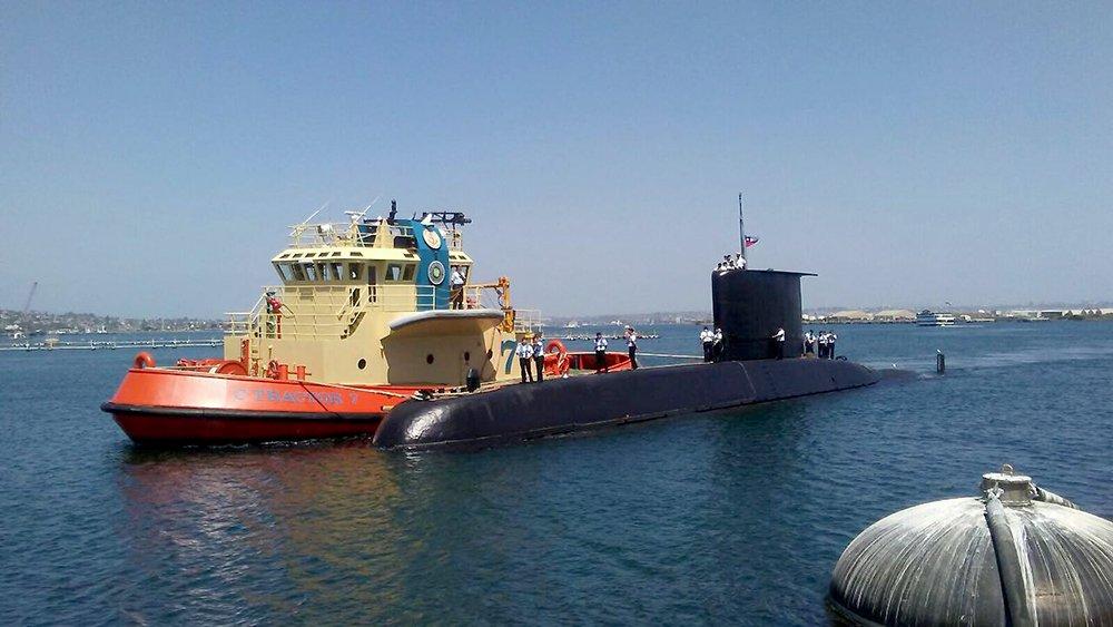 Chile's SS-20 Thomson Submarine Participates in DESI 2016