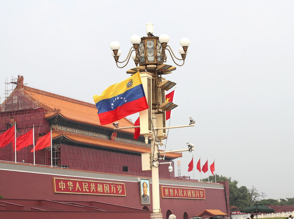 Crisis Drives Venezuela into Arms of China