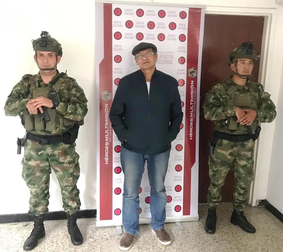 Colombian Special Commands Capture ELN Leader