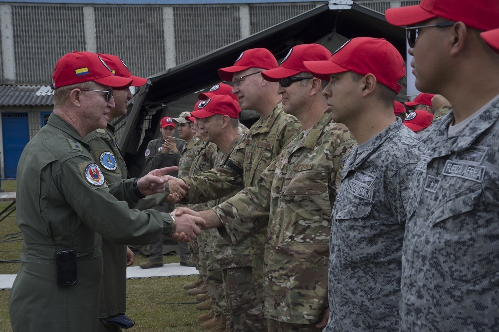 US Air Force Participates in Angel de los Andes Colombian Search-and-Rescue Exercise