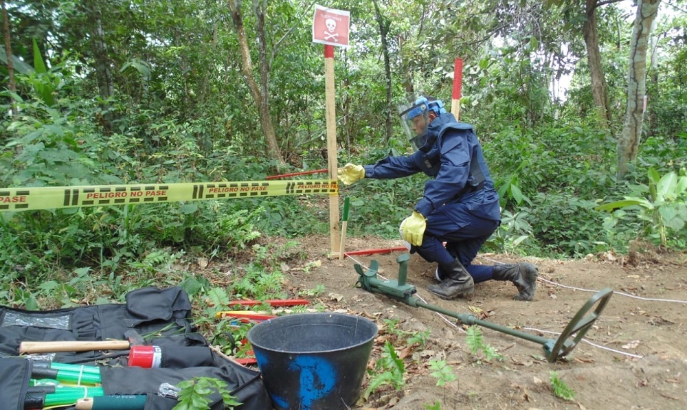 Colombia Makes Progress with Humanitarian Mine Clearance