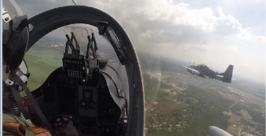 Colombia and the Dominican Republic Conduct Counter Drug TraffickingAerial Exercise