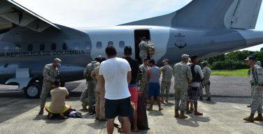 Marinha da Colômbia captura estrangeiros vinculados ao narcotráfico
