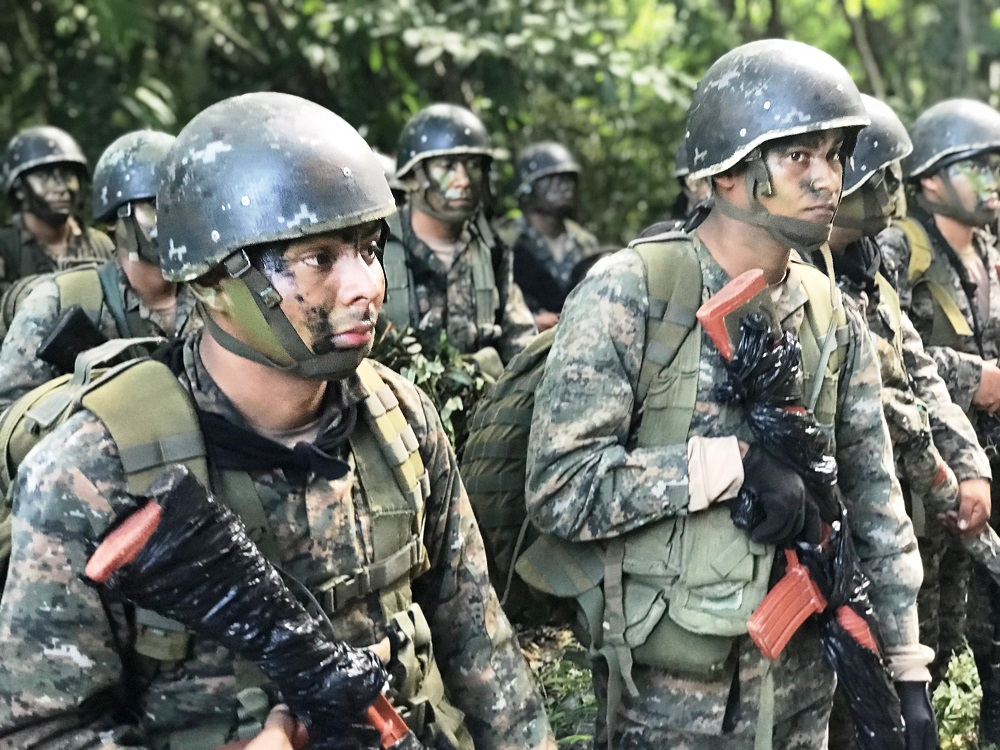 Colombia Trains Guatemalan Marines