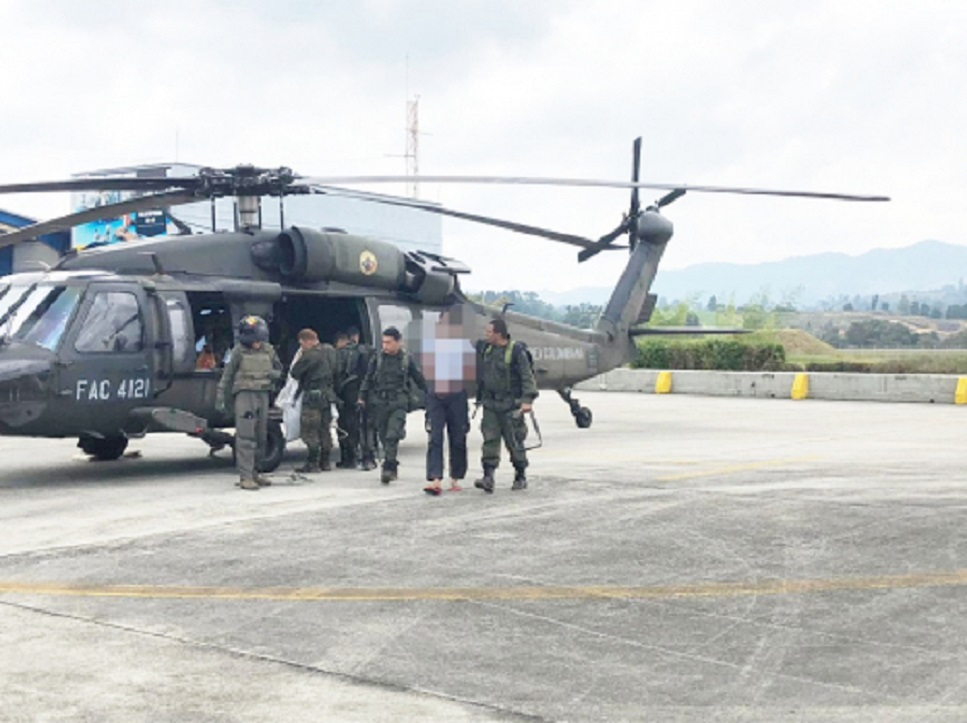 Colombian Armed Forces Capture Members of ELN and Los Pelusos