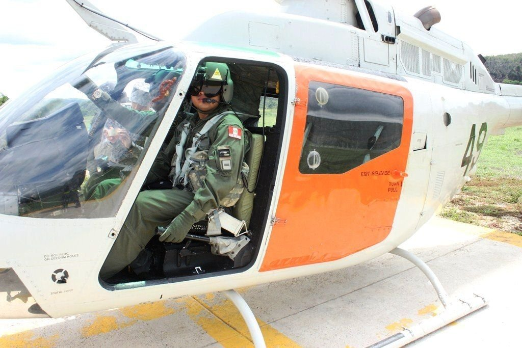 Colombian Air Force Trains Latin American Air Forces on Piloting Helicopters