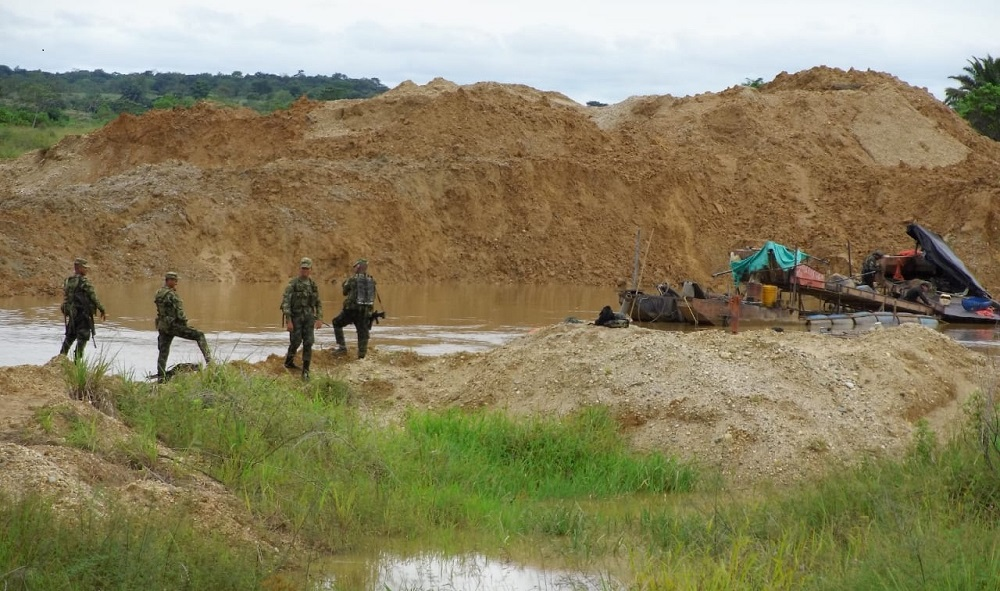 Colombia Deals Blow to Illegal Mining