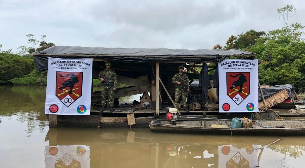 Blow to Illegal Mining in the Colombian Amazon