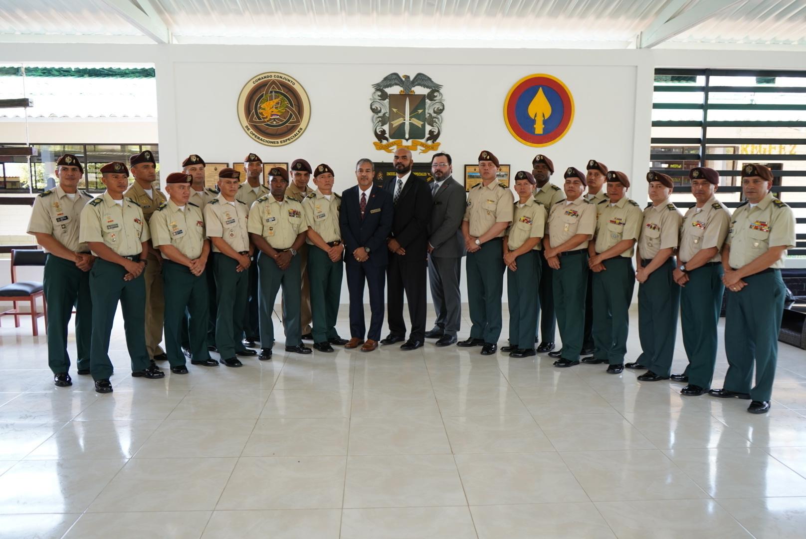 Colombia Celebrates Milestone in NCO Development