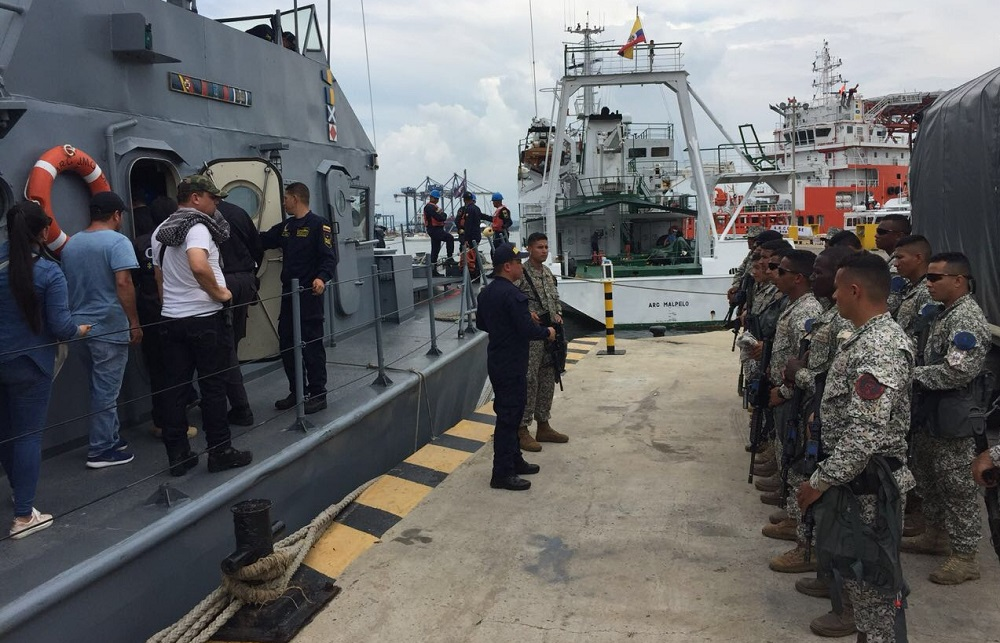 Colombia Dismantles Maritime Criminal Network