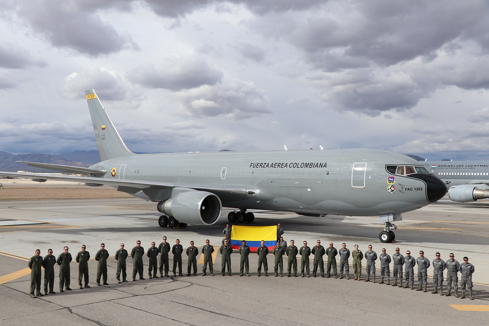 Colombia Takes Part in Exercise Red Flag 19-2