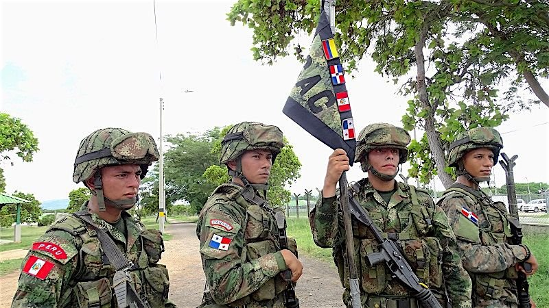 Colombia Trains Partner Nations in Advanced Combat