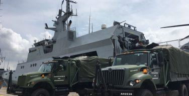 "Colombian Navy Ship ""ARC 7 de Agosto"" Prepares to Set Sail to Provide Humanitarian Aid to Haiti"