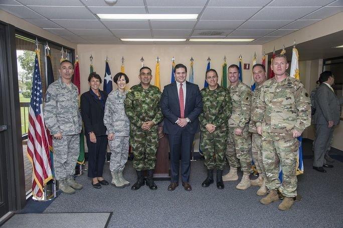 Colombian Ambassador Visits IAAFA