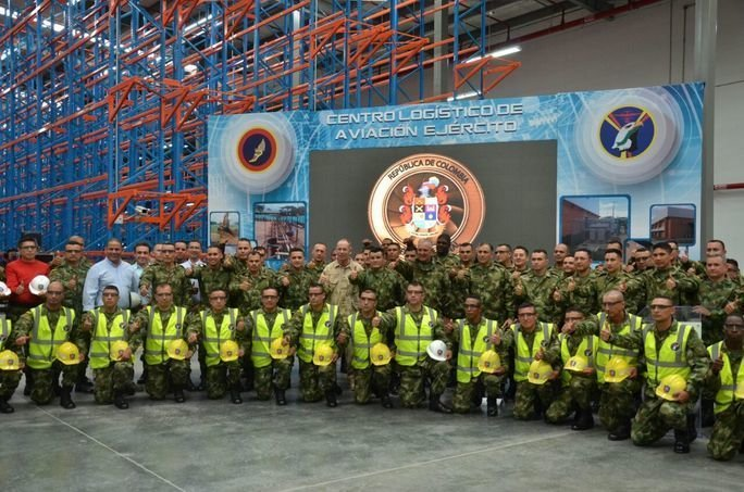 Colombia Builds First Army Aviation Logistics Center