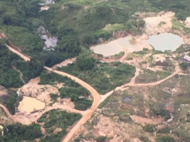 Colombian Army Deals Major Blow against Illegal Mining in 2016