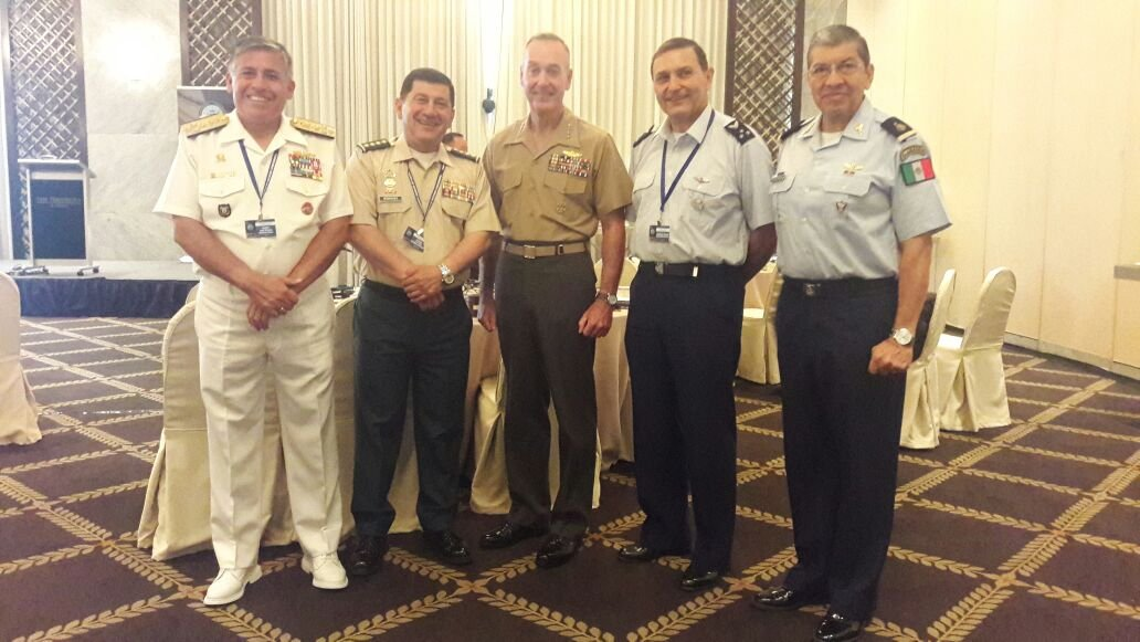 Colombian Military Forces Guests of Honor at Asia-Pacific Meeting
