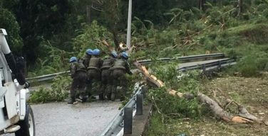 Brazilian Contingent in Haiti Lends Support to Regions Most Affected by Hurricane Matthew