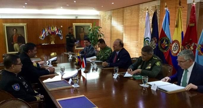 Costa Rica and Colombia Reinforce Strategy against Transnational Crime