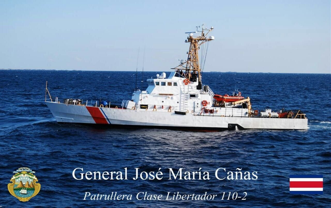 Costa Rican Coast Guard Receives Patrol Boats to Protect its Territorial Waters