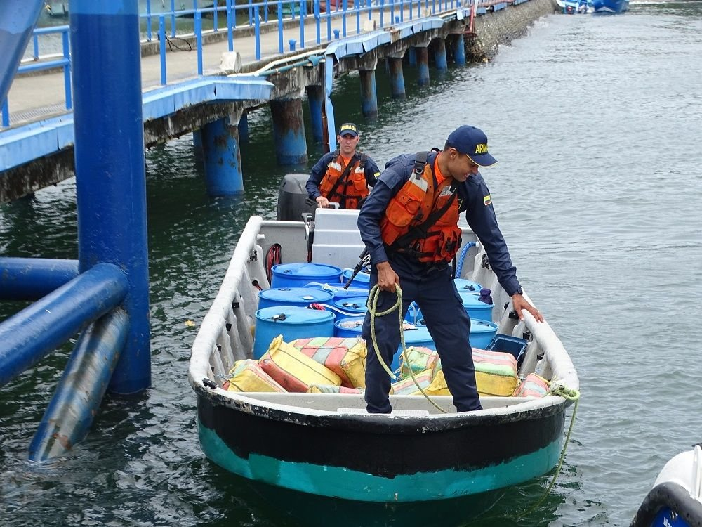 New Strikes against Narcotrafficking in Colombia's Pacific Region