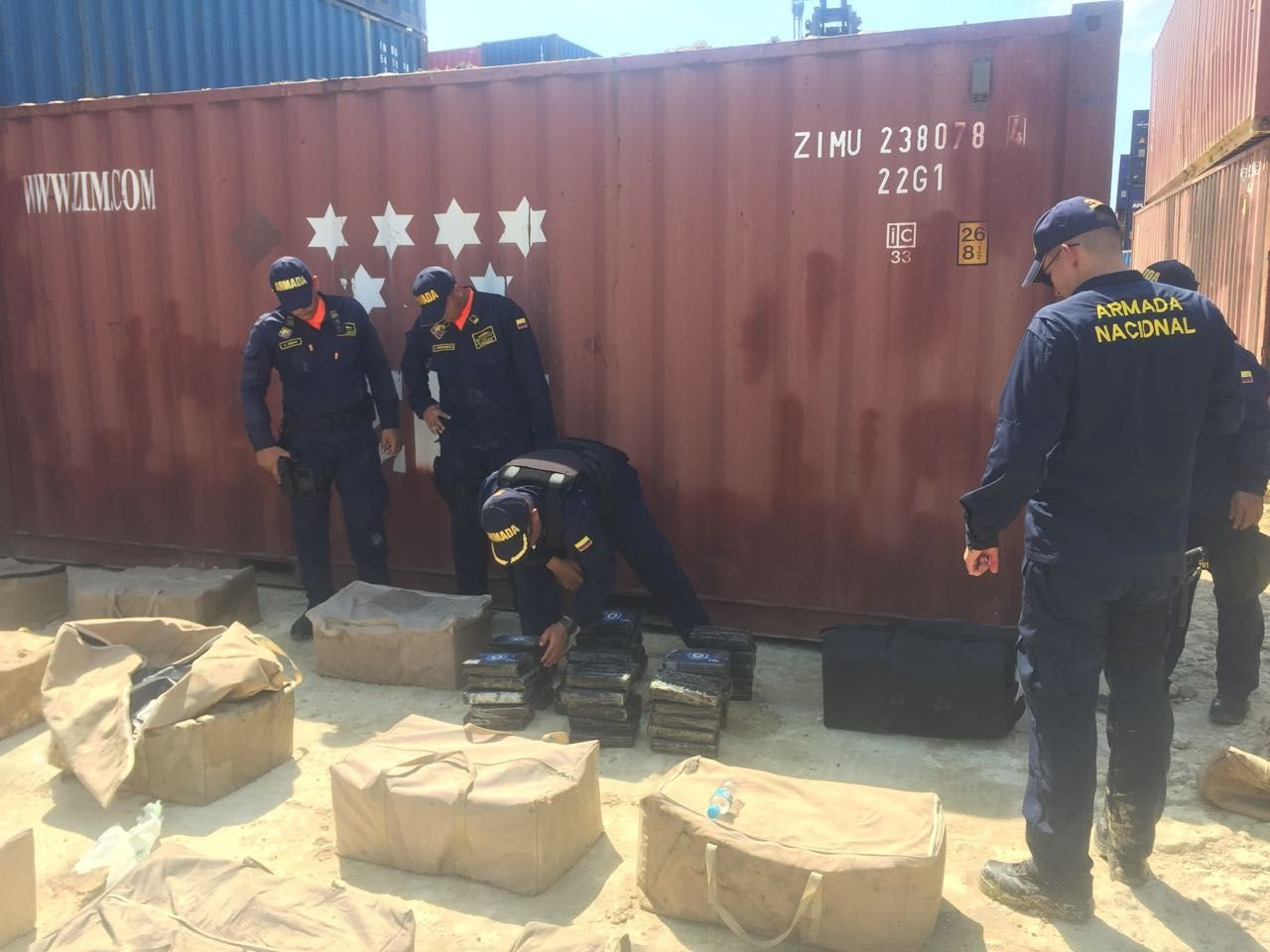 Drug Traffickers Resort to Shipping Containers in Colombia