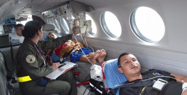 Air Ambulance, a Free Service of the Colombian Air Force