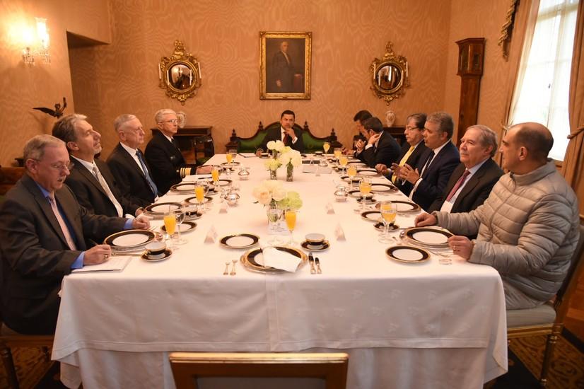 Mattis Impressed With Colombian Progress, Concerned About Venezuela